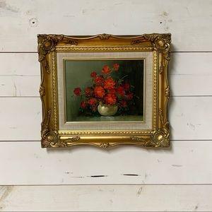 🏡 Vintage Floral Painting